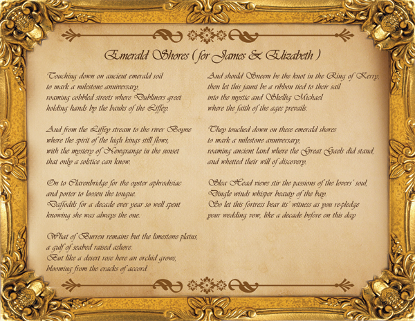 Poems For Ushers Anniversary